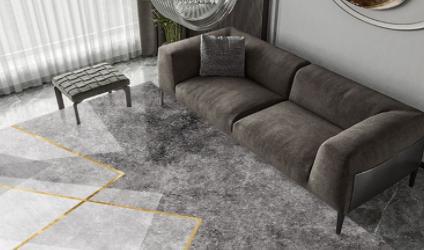 茶几垫和沙发垫颜色能接近吗(黑色的茶几用啥颜色地毯)