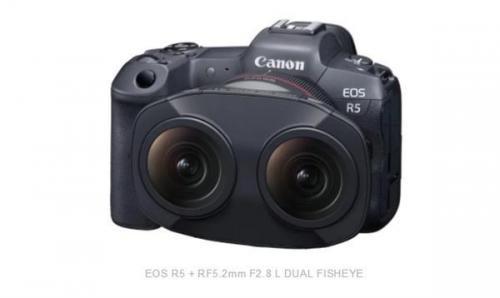 佳能推 EOS VR 系统及双鱼眼镜头 可拍摄 8K 和 VR